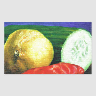 A Lemon and a Cucumber