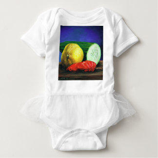A Lemon and a Cucumber Baby Bodysuit