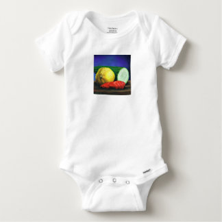 A Lemon and a Cucumber Baby Onesie