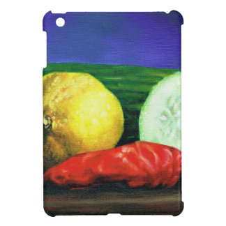 A Lemon and a Cucumber Case For The iPad Mini