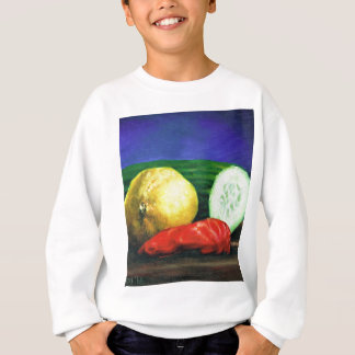 A Lemon and a Cucumber Sweatshirt