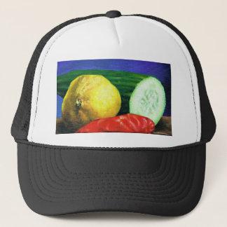 A Lemon and a Cucumber Trucker Hat