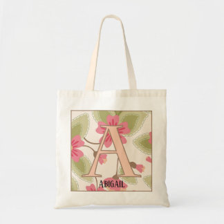A letter tote bage