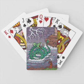 A Leviathan Ascendant Playing Cards