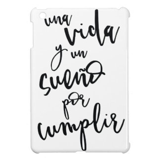 a-life-and-a-sueño-by-to fulfill - positive cover for the iPad mini