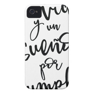 a-life-and-a-sueño-by-to fulfill - positive iPhone 4 cover