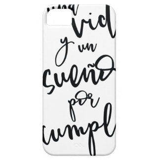 a-life-and-a-sueño-by-to fulfill - positive iPhone 5 covers