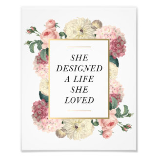 A Life She Loved | Art Print Photo