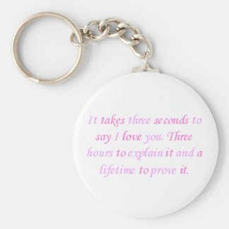 a lifetime to prove it keychain