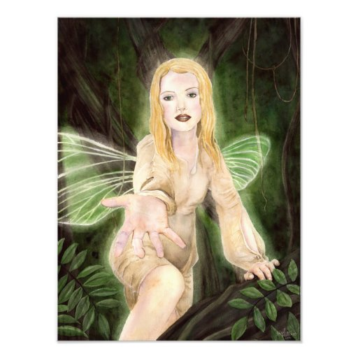 A Light in a Dark Place Fairy Print Photo