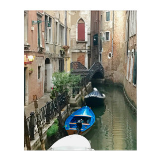 A Light in Venice Acrylic Wall Art