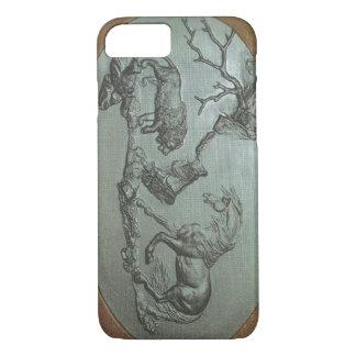 A Lion, A Horse, a 1780 classic iPhone 7 case