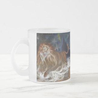 A Lion Fantasy Frosted Mug