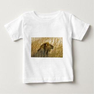 A Lion Waits, Zimbabwe Africa Baby T-Shirt