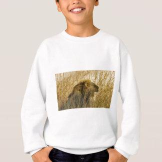 A Lion Waits, Zimbabwe Africa Sweatshirt