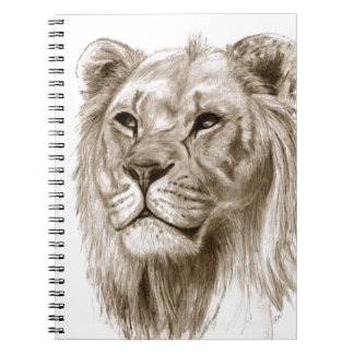 A Lion - Without Pride Drawing Sketch Art Notebooks