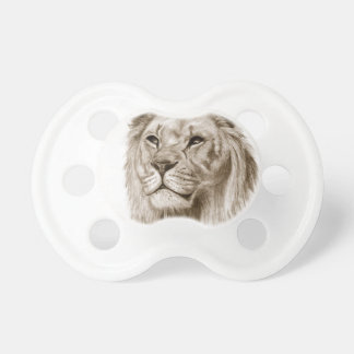 A Lion - Without Pride Drawing Sketch Art Pacifier