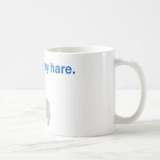 A Litte Gray Hare Coffee Mug