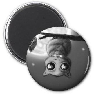 A little batty magnet