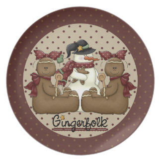 A Little Bit of Christmas Ginger Plate