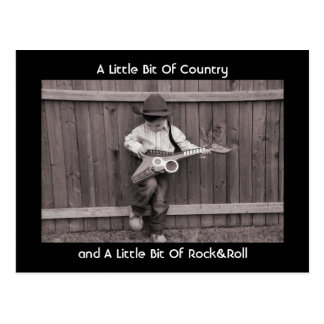A Little Bit Of Countryand A L... Postcard