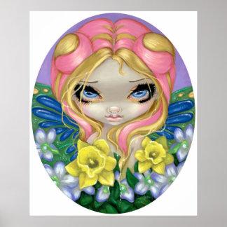 A Little Bit of Spring ART PRINT flower fairy