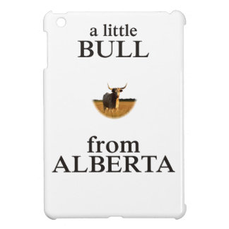 A Little Bull from Alberta iPad Mini Cover
