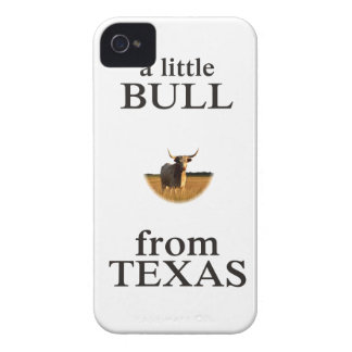 A Little Bull from Texas iPhone 4 Covers