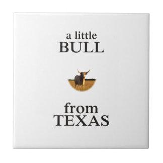 A Little Bull from Texas Tile