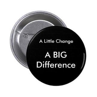 A Little Change 2 Inch Round Button