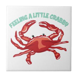 A Little Crabby Ceramic Tiles