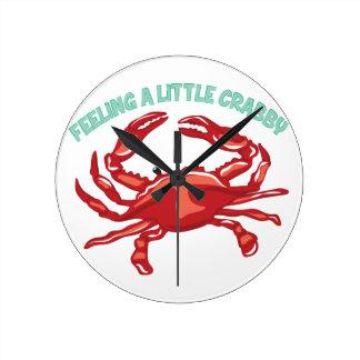 A Little Crabby Clocks