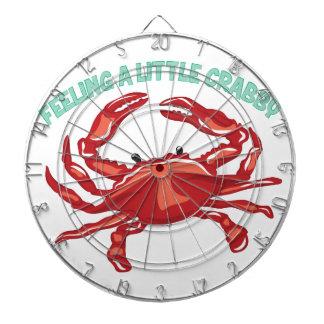 A Little Crabby Dart Board