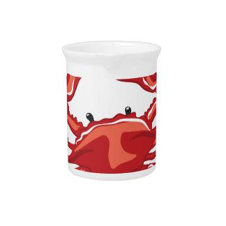 A Little Crabby Drink Pitcher