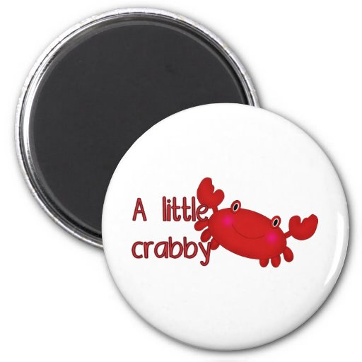 A little crabby magnets