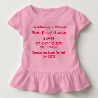A Little Girls Truth Toddler T-shirt