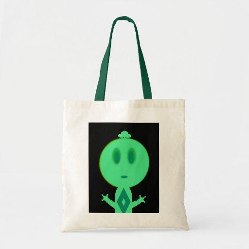 A Little Green Man Bag