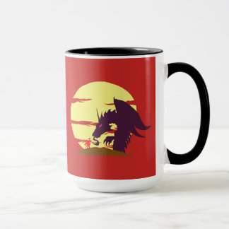 A Little Knight Dragon Slayer Mug