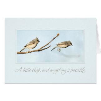 A Little Leap Card