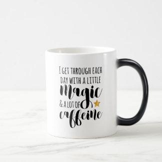 A little Magic & a lot of Caffeine Magic Mug
