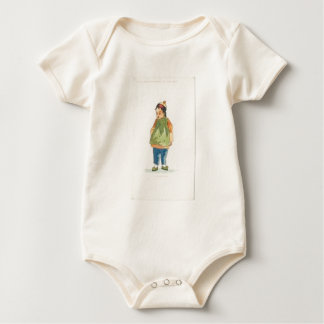 A Little Outkast Chinese Boy Baby Bodysuit