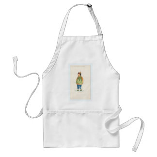 A Little Outkast Chinese Boy Standard Apron