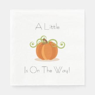 A Little Pumpkin Napkins Paper Napkin