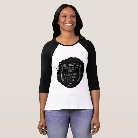A Little Rain by Rachel Firmin Poetry Ringer Shirt