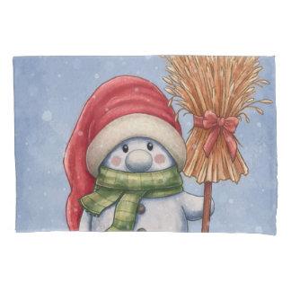 A Little Snowman Pillowcase