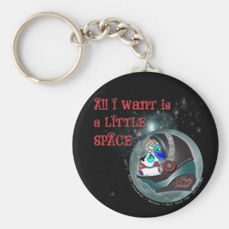 A Little Space Keychain