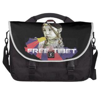 A little Tibetan girl  SAVE TIBET~! FREE TIBET! Commuter Bag