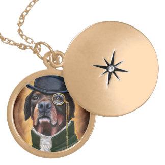 a locket necklace