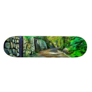 A lonely but lovely path skateboards