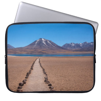 A lonely path laptop sleeve